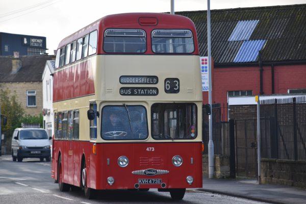 huddersfieldbus,huddersfieldcorporation,preserved,leylandfleetlineroe,fleetline,leylandbus,doubledecker,yorkshirebus,keighleybusmuseum