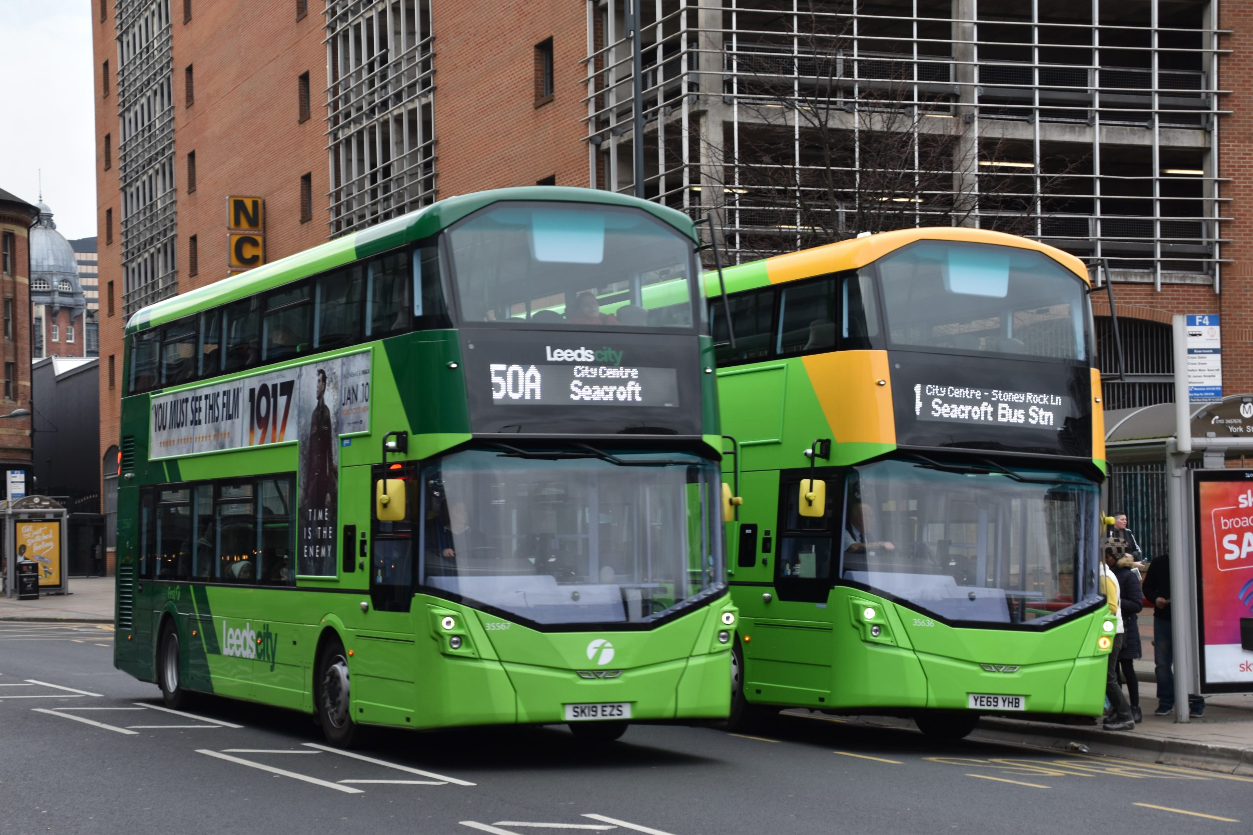 Buses for the future…